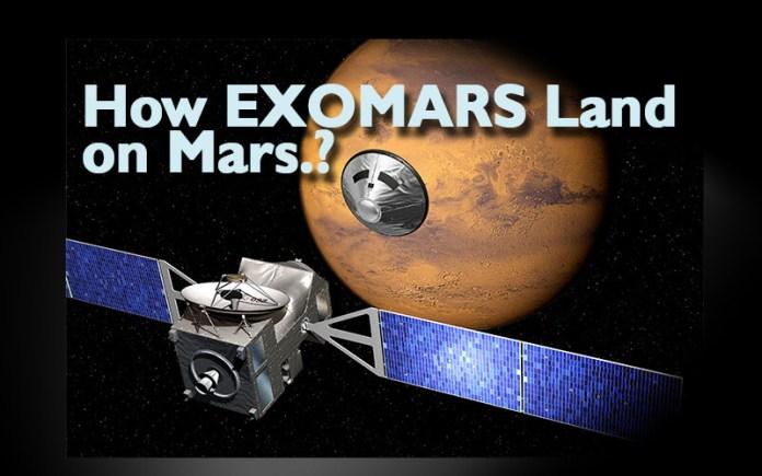 How EXOMARS Land on Mars