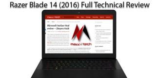Razer Blade 14 (2016) Review mazzitorch