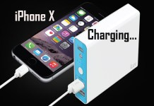 iphoneX charge