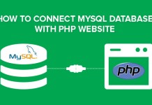 connect database php mysql