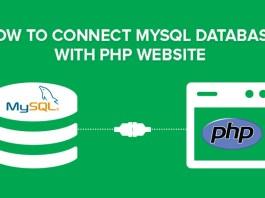 connect database php mysql