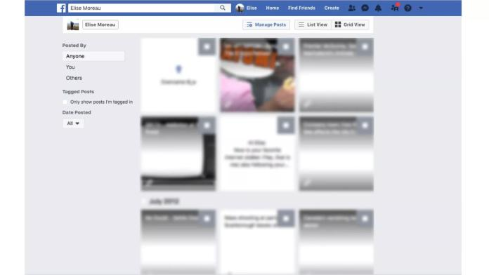 Delete All Facebook Posts
