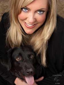 black dog usa girl