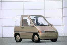 Für die Zukunft des Automobils in der Stadt: Mercedes-Benz NAFA (1982).
