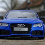 Mb Tuningcars 1 18 Tuning Audi Rs7 C7 4g Sportback Performance Rs Blue Oz Alufelgen Rar
