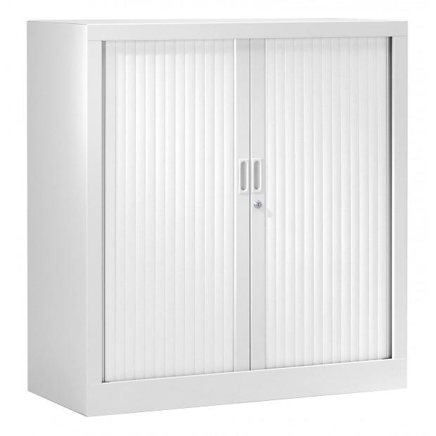 armoire basse metal 2 coloris hauteur 100 cm fabriquee en france