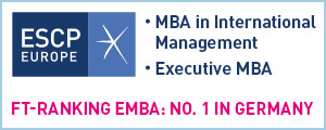 ESCP MBA EMBA Banner