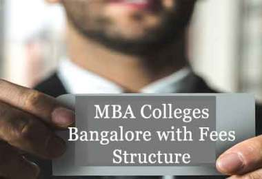 MBA Colleges Bangalore Fees