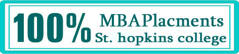 MBA Placements St Hopkins college