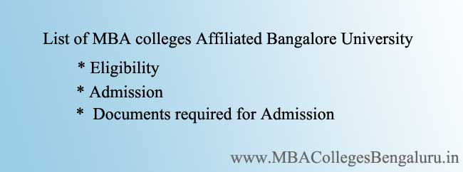 list of MBA Colleges Under BU