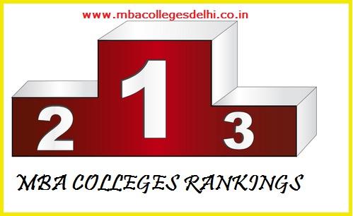 MBA colleges Delhi Ranking