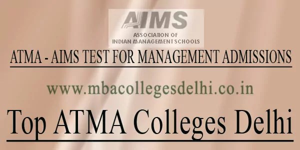 Top ATMA Colleges Delhi