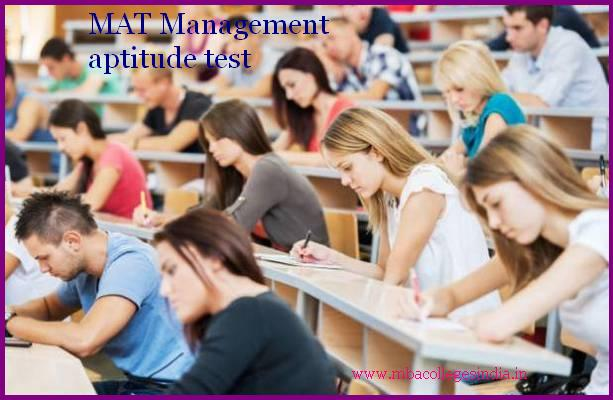 MAT Management Aptitude Test