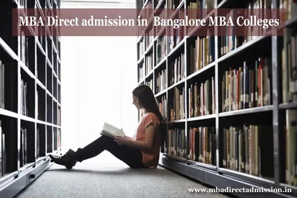 MBA Direct Admission in Bangalore