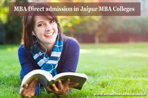 MBA Direct Admission in Jaipur