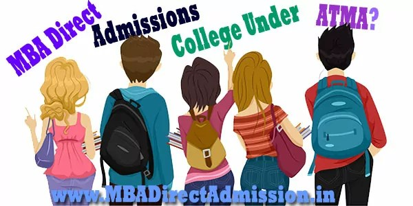 Direct Admission MBA Colleges under ATMA