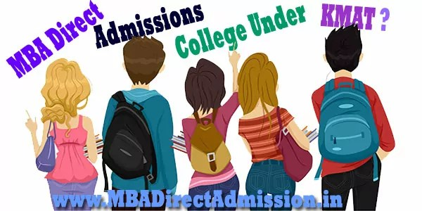 MBA Direct Admission Under KMAT