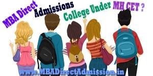 College Under MHT CET