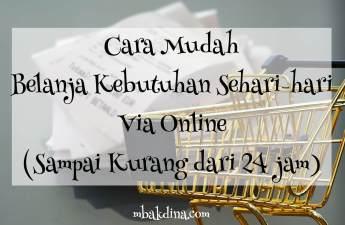 Aplikasi Belanja online sehari sampai