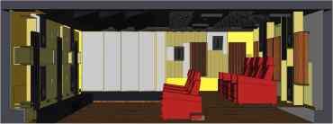 Schnitt in der Entwurfsphase   HAG Fairland Custom Reference