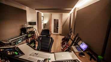 Blessville Studio rear wall