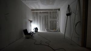Modalanalyse im Rohbau nach Fertigstellung der Raum-im-Raum Konstruktion