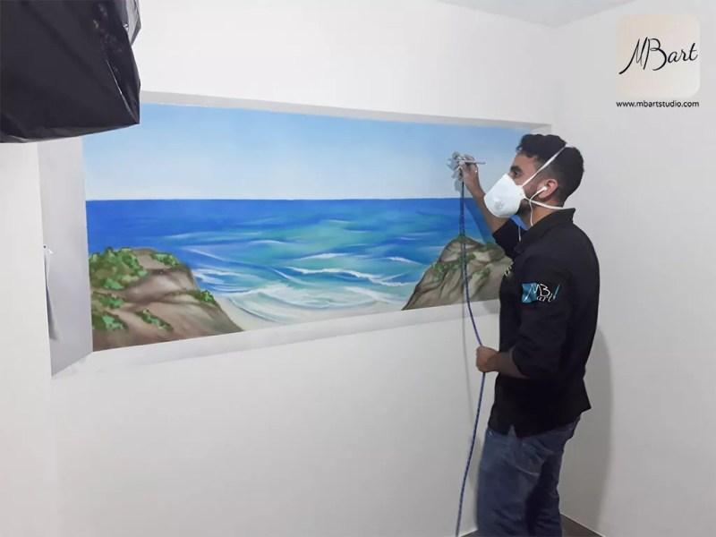 ציורי קיר לחדרי שינה