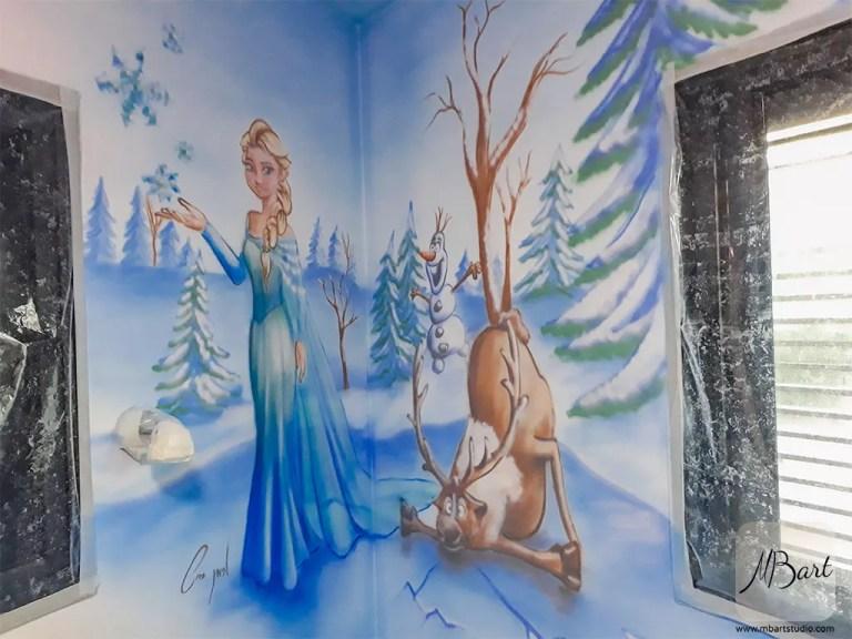 ציורי קיר לחדרי בנות