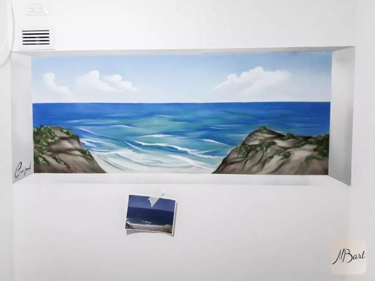 ציור קיר תלת מימד