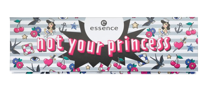 essence not your princess_Eye and Face Palette