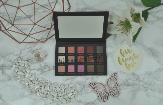 LOV Cosmetics EYEvotion Extended Rosegold Edition