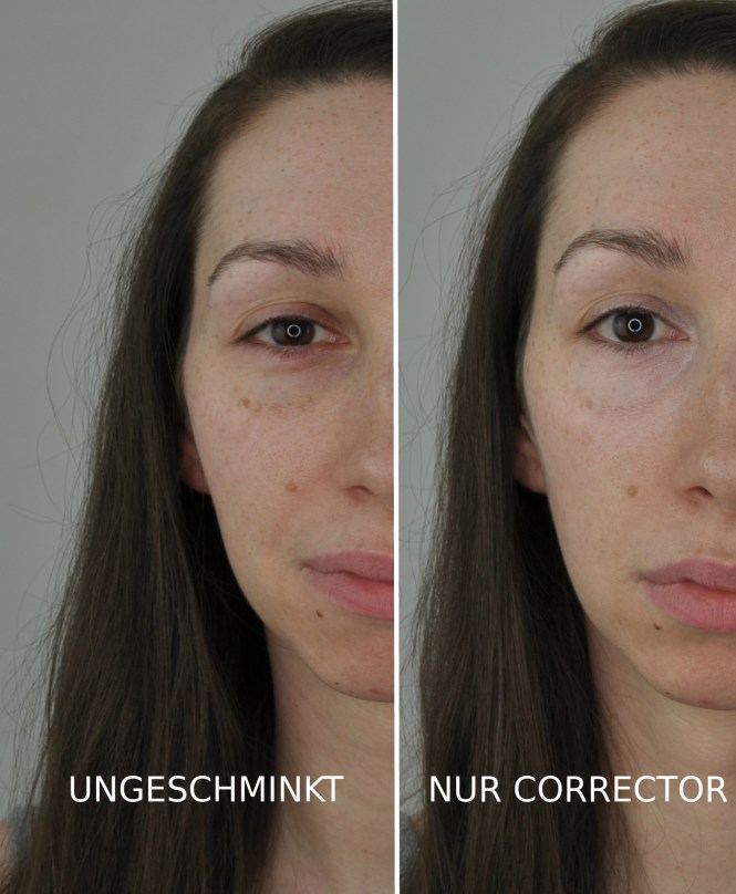 Ungeschminkt vs. becca under eye brightening corrector