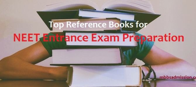 Best Books for NEET exam preparation 2018