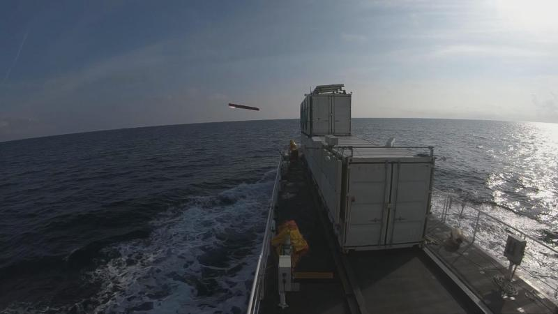 Final developmental firing of MBDA's Sea Venom-ANL anti-ship missile