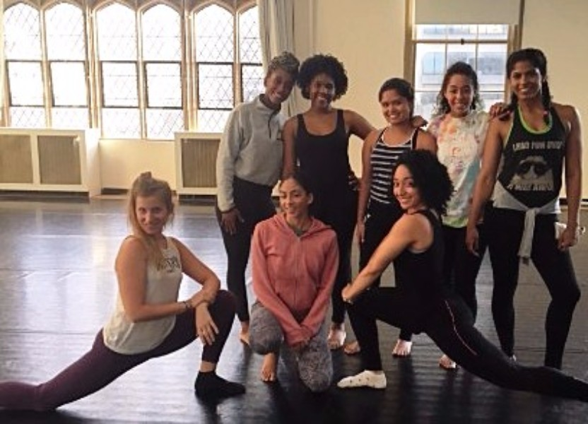 """Hunter College Dancers Perform Excerpts from """"dying and dying and dying"""""""