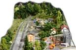 Überblick über die Gleisanlagen Richtung Wasserburg