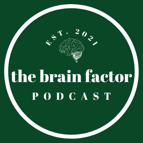 Description and audio players for The Brain Factor Podcast