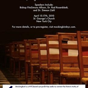 2010 Mockingbird Conference Details