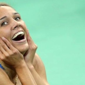Can a Gorgeous Olympian Find Love...Please?