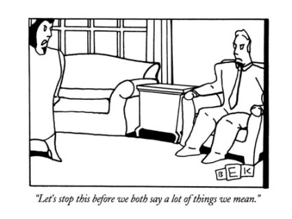 bruce-eric-kaplan-let-s-stop-this-before-we-both-say-a-lot-of-things-we-mean-new-yorker-cartoon