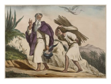 abraham-tooking-isaac-to-mount-moriah-illustration-from-a-catechism-l-histoire-sainte