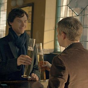 "On TV: <i>Sherlock</i>, ""The Sign of Three"""