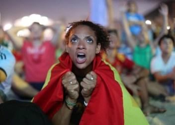 Spain frustration