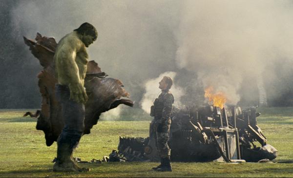 The Incredible Hulk movie image Hulk