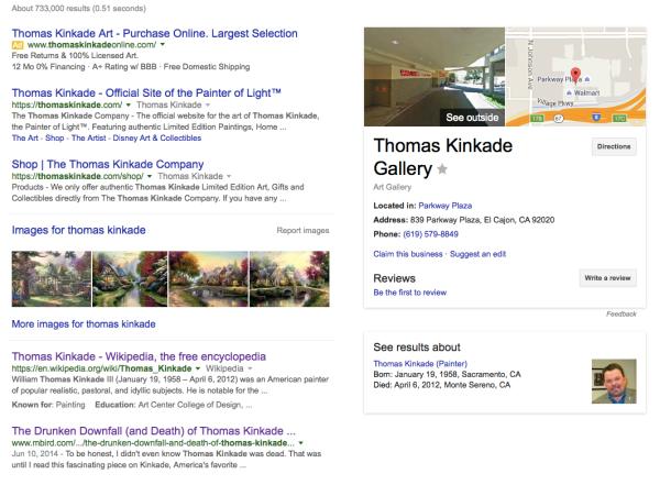 Thomas Kinkade Google Search
