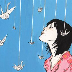 """A Thousand Paper Cranes for the Vampire Queen: A Story About """"The Meaning of Madness"""""""