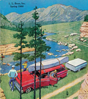 L.L.Bean Spring 1966 catalog cover