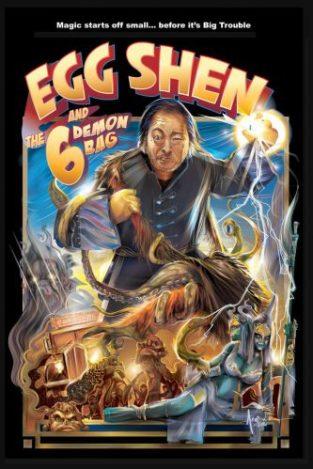 Egg Shen 6 Demon Bag- Orlando Arocea- vectoart 2016
