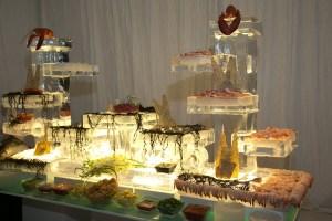 Kaley Cuoco Wedding Buffet Station