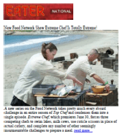 EaterNational Extreme Chef Featuring Chef Meg Hall
